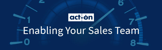Act-On Enabling Your Sales Team Training Power-Up